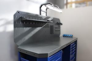 Фото рабочей поверхности верстака серии Гефест-ВС-105-ЭПОБ