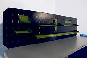 Фото перфорированного экрана верстака Гефест-5005-ЭПБ