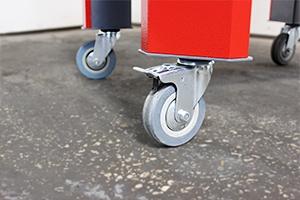 Комплект колес для инструментальной тележки