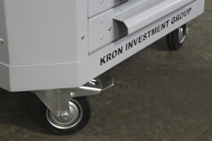 Фото комплекта колес инструментальной тележки