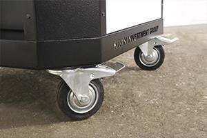 Фотография комплекта колес для тележки