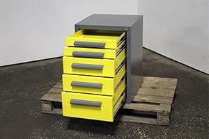 Металлические ящики в открытом виде