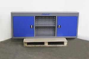 Металлический навесной шкаф для инструментов