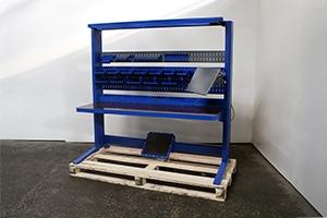 Универсальный рабочий стол KronVuz Pro WP-1000 SLDP вид сбоку