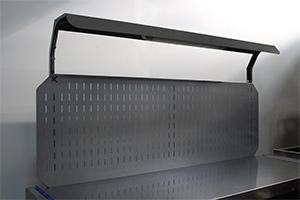 Металлический перфорированный экран