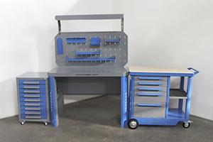 Общий вид набора мебели серий Гефест и KronVuz