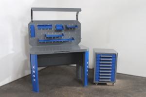 Верстак и тумба набора мебели Гефест-НМ-11
