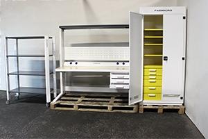 Выдвижные ящики изделий серии KronVuz Pro