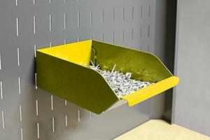 Навесной металлический лоток KV-L2 общий вид