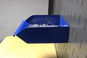 Навесной металлический лоток KV-L3 вид сбоку