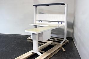 Угловой стол рабочего места серии KronVuz Pro