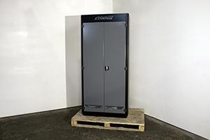 Вид сбоку металлического шкафа KronVuz Box 1020-10