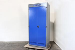 Фото шкафа инструментального KronVuz Box 1120-10 вид сбоку
