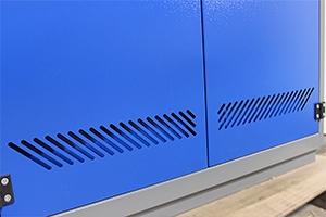 Фото металлических вентиляционных отверстий