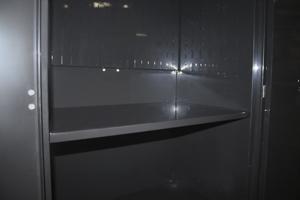 Фото внутренней металлической полки
