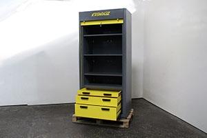 Вид сбоку металлического шкафа серии KronVuz