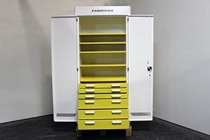 Шкаф KronVuz Box 1650 в открытом виде