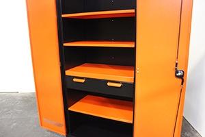 Фотография металлического шкафа KronVuz Box 2140 вид сбоку