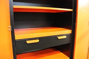 Металлический ящик шкафа KronVuz Box в закрытом виде компании РМЗ