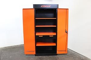 Фотография шкафа KronVuz Box 2140 в оранжевом цвете