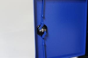 Фото ригельной системы навесного шкафа KronVuz Box-7042