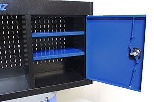 Фото открытого металлического ящика выполненного компанией КРОН