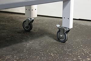 Комплект колес металлического стеллажа