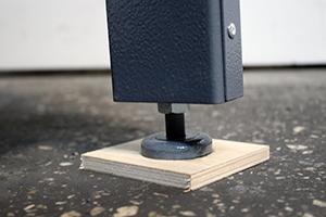 Металлическая ножка стеллажа KronVuz SH 1280