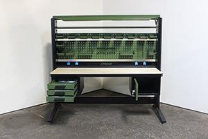 Фото KronVuz Pro с открытыми выдвижными ящиками