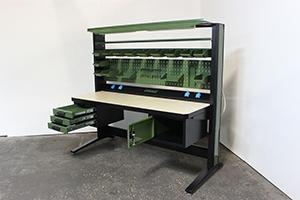 Фотография рабочего места KronVuz Pro в зеленом цвете