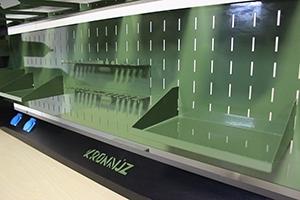 Фото металлической полки рабочего места KronVuz Pro