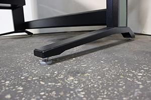 Фото металлической ножеки KronVuz Pro WP-3301-SLD