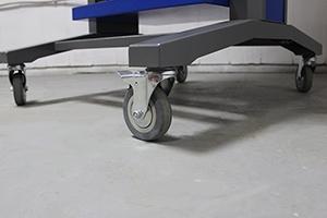 Фото комплекта колес для стойки инструментальной KronVuz