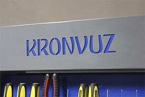 Своя надпись на изделии стойки инструментальной серии KronVuz