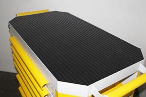 Фото резинового коврика на столешнице