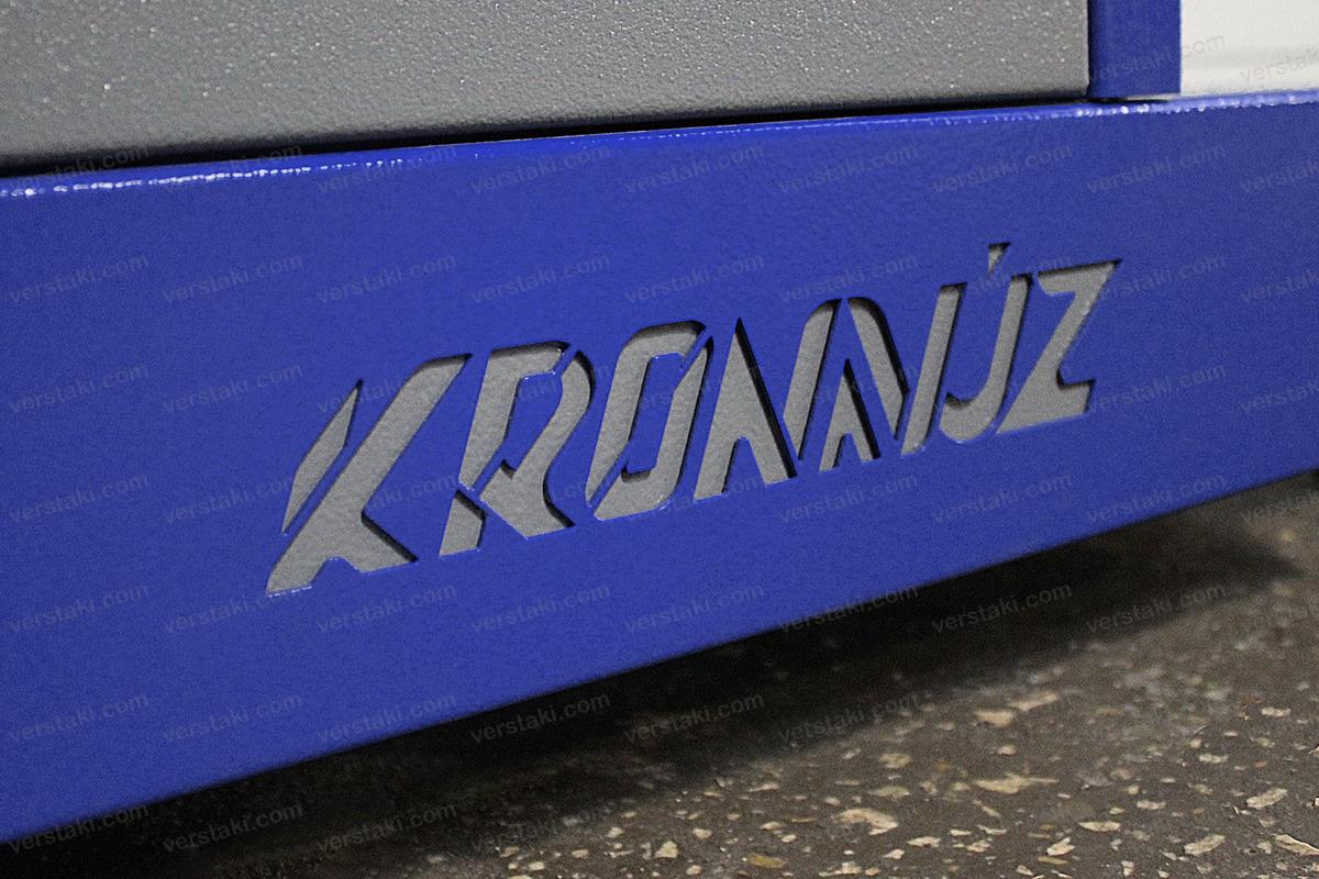 Своя надпись на изделии тележки серии KronVuz