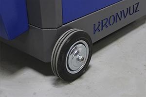Фотография колес тележки KronVuz TB 501