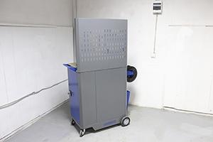 Инструментальная тележка KronVuz TB 501 вид сзади