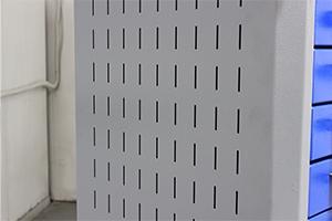 Фото бокового перфорированного экрана серии KronVuz