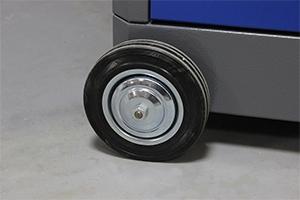 Фотография колес тележки серии KronVuz