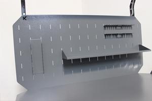Фото металлического перфорированного экрана