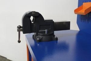 Тиски установленные на верстак Гефест-ВС-105-ЭП-Т3