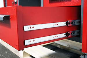 Усиленные направляющие металлического ящика