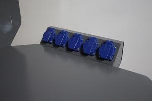 Фотография комплекта розеток слесарного верстака