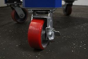 Фото комплекта колес верстака серии Гефест