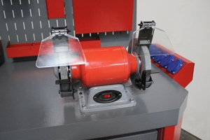 Фото металлического точильного станка