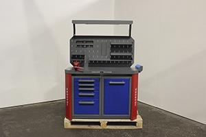 Фото металлического слесарный верстака Гефест-ВС-5555 вид спереди