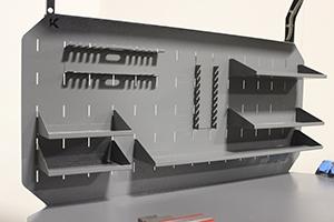 Фото экрана верстака Гефест с доп. комплектующими