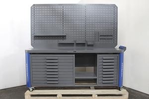 Верстак Гефест-ВС-8809-ЭДБ вид спереди