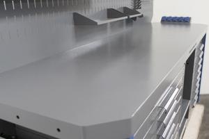 Фото металлического стола верстака Гефест-ВС-8809-ЭДБ